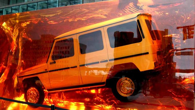 Mercedes-Benz G-Klasse in Kunstharz